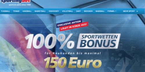 Sportingbet Gutscheincode
