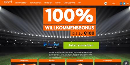Ein- und Auszahlen bei 888Sport mit PayPal