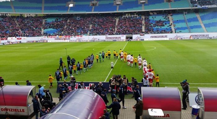 RB Leipzig gegen 1860 München