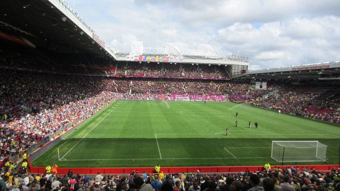Foto:By Daniel – Flickr: 2012 Olympic Football – Old Trafford (4), CC BY 2.0, https://commons.wikimedia.org/w/index.php?curid=20475299