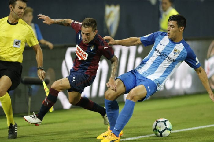 Foto: FC Malaga-SD Eibar